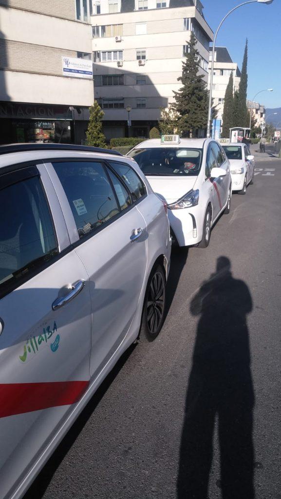Nuestros taxis preparados contra el Coronavirus