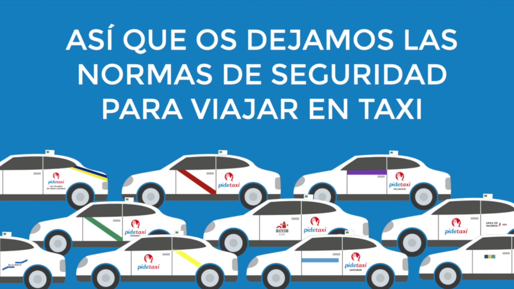Coronavirus (COVID-19) Viaja seguro – Nuevas normas de seguridad para viajar en taxi